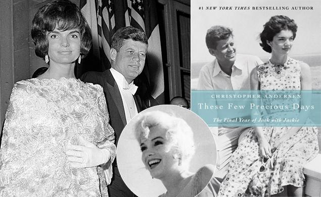 Author Christopher Andersen claims Jackie Kennedy knew everything about JFK's cheating and turned a blind eye, but his relationship with Marilyn Monroe seemed to bother her the most