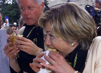Bill Clinton's voracious appetite and love of all things lardy became the stuff of legend