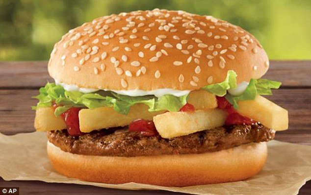 Burger King has come out with a revolutionary $1 French Fry Burger to compete head on with McDonald's lucrative Dollar Menu
