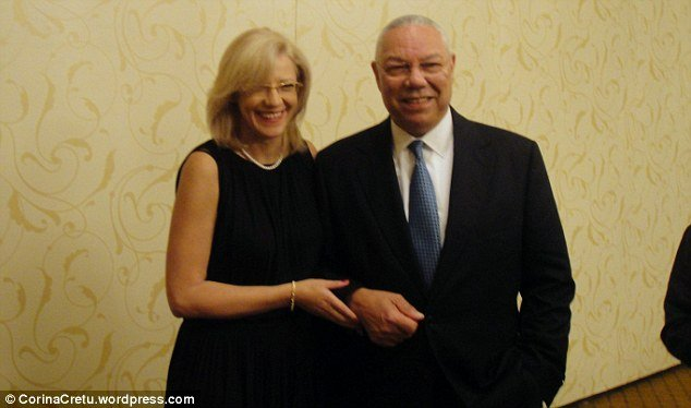Colin Powell denies affair with Corina Cretu after hacker leaks very personal emails