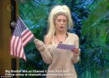 Courtney Stodden was challenged with singing the American National Anthem whilst crying in front of her other famous housemates on Celebrity Big Brother