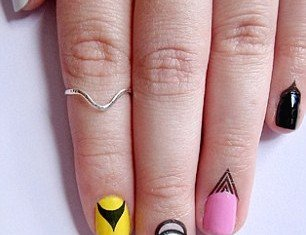 Cuticle tattoo is the latest lacquer trend to take the beauty world by storm