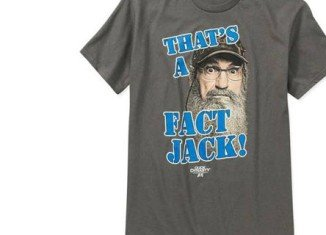 Duck Dynasty's bearded hunters adorn the top-selling graphic T-shirt at Walmart