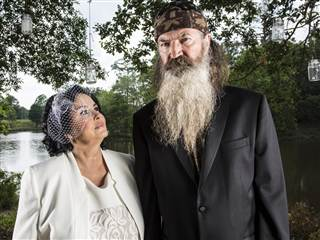 Phil and Kay Robertson Wedding