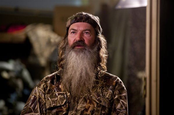 Duck Dynasty patriarch Phil Robertson spoke at a community event at the University of Louisiana