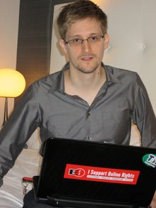 Edward Snowden has left the Moscow airport where he has been staying since June