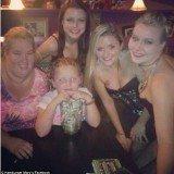 Honey Boo Boo enjoyed an evening of drag queen bingo at Hamburger Mary's restaurant in Jacksonville Florida