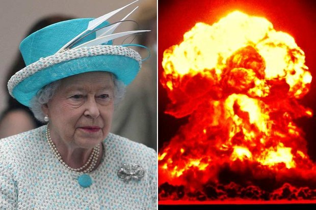 In a Whitehall written script the Queen speaks of the madness of war photo
