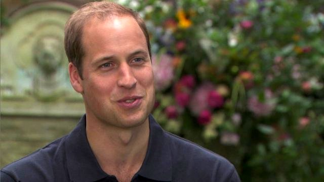 In his first interview since the birth of Prince George the Duke of Cambridge said he and Kate Middleton were enjoying their new role as parents photo