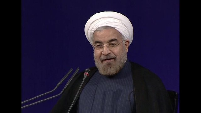 Iran's new President Hassan Rouhani is ready to talk on nuclear issue