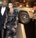 Kanye West bought two high-performance armored vehicles to protect Kim Kardashian and their baby daughter North