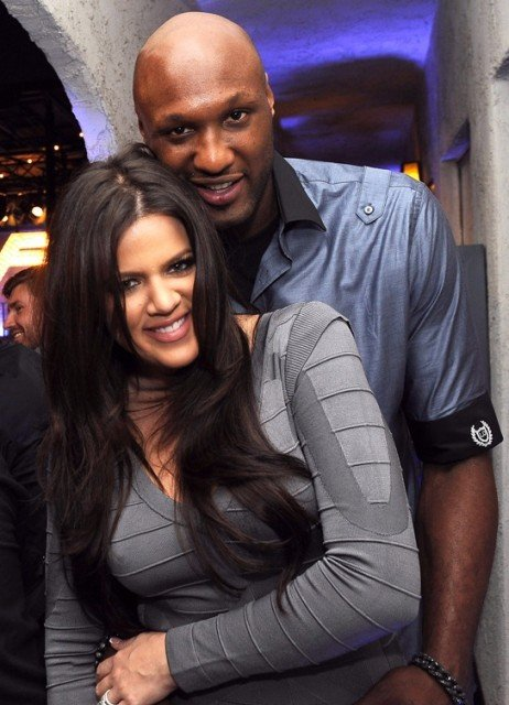 Khloe Kardashian has been accused of trying to punch Lamar Odoms alleged mistress Polina Polonsky  462x640 photo