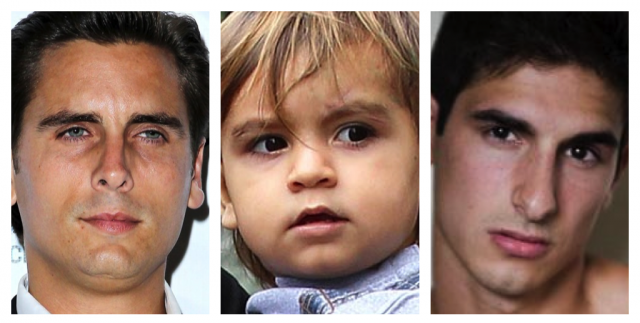 Kourtney Kardashian confirmed that Scott Disick is the biological father of her son Mason despite Michael Girgentis paternity claims 640x323 photo