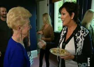 Kris Jenner and Bruce's mother Esther finally put their differences to one side but not without a bit of drama first