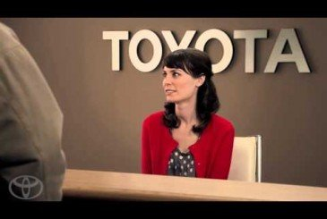 Laurel Coppock is playing Jan in Toyota commercials photo