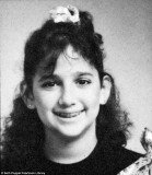 Lauren Silverman's fifth grade school photo is a far cry from the glamorous socialite we've seen frolicking