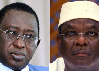 Mali presidential candidates Soumaila Cissé and Ibrahim Boubacar Keita
