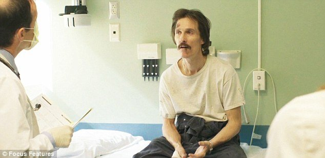 Matthew McConaughey shed 40 lbs to play the role of HIV positive Texan Ron Woodroof in highly anticipated film Dallas Buyers Club photo