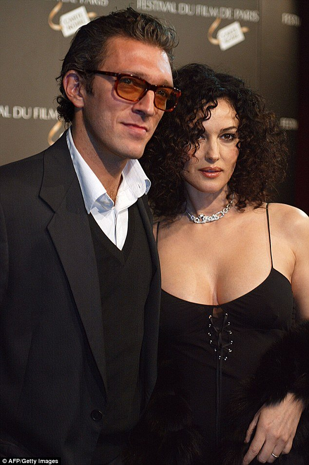 Monica Bellucci announces divorce from Vincent Cassel