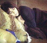 New mother Kim Kardashian resting at home on June 29