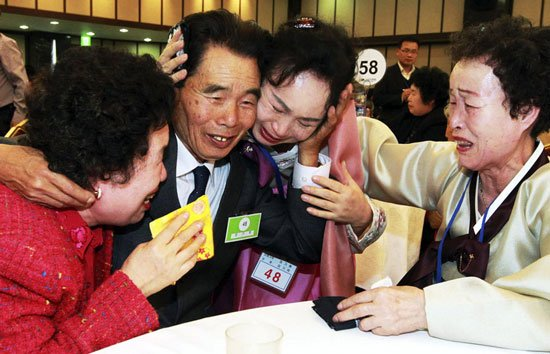 North Korea has agreed to South Korea's proposal to resume reunions of families separated since the 1950 1953 war photo