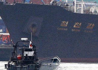North Korean ship Chong Chon Gang was seized in Panama on suspicion it was carrying drugs