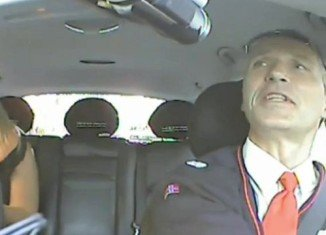 Norway's Prime Minister Jens Stoltenberg spent an afternoon working incognito as a taxi driver in Oslo