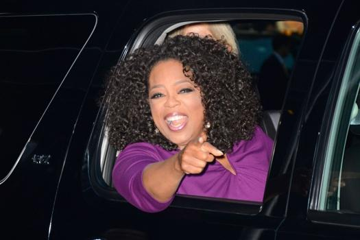Oprah Winfrey's racism claims were made amid a political row in Switzerland over asylum seekers' rights