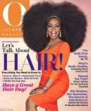 Oprah Winfrey graces the cover of her O magazine in huge 3.5 lbs afro wig