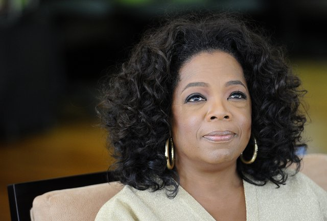 Oprah Winfrey was the victim of racism during a recent visit to Switzerland