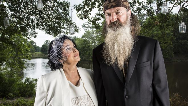 Phil and Miss Kay Robertson make it official 50 years later photo