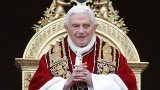 Pope Benedict announced his shock resignation in February and became the first pontiff to step down in 600 years
