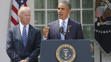 President Barack Obama says the US should take military action against Syria