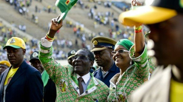 Robert Mugabe has won a seventh term in office as Zimbabwe's president