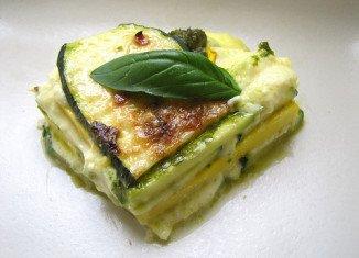 Skinny courgette lasagne