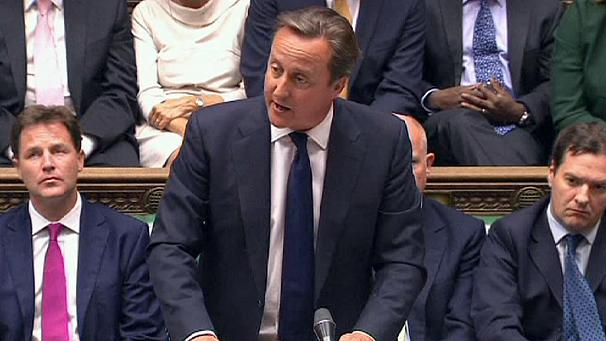 The British Parliament vote against military strikes in Syria is a tough blow to PM David Camerons domestic political fortunes photo