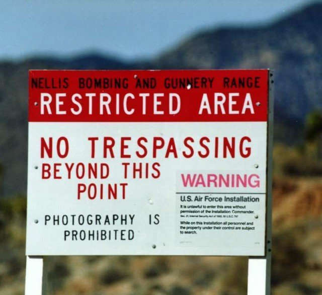 The CIA has officially acknowledged the secret test site known as Area 51 in a newly unclassified internal history of the U 2 spy plane programme 640x586 photo