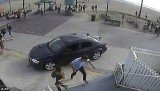 The car sped deliberately through a crowd of pedestrians, killing one, on the Venice Beach Boardwalk