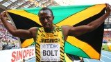 Usain Bolt defended his 200 m title with ease and took his tally of World Championship gold medals to seven