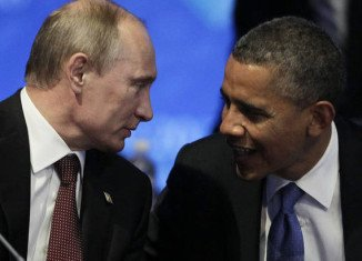Vladimir Putin urged Barack Obama, as a Nobel Peace Prize laureate, to think about future victims in Syria before using force