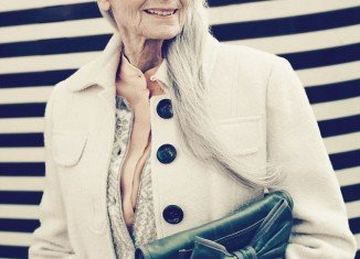 World's oldest supermodel posed for TK Maxx campaign
