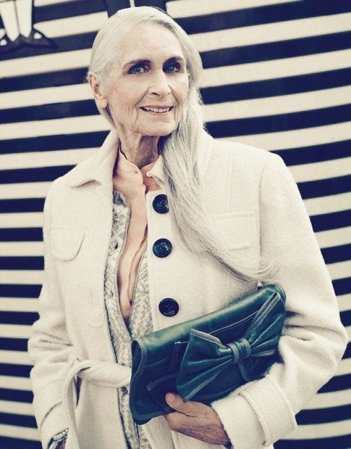 Worlds oldest supermodel posed for TK Maxx campaign 500x640 photo