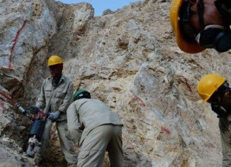 At least 27 Afghan miners have been killed in a collapse after being trapped underground in the northern province of Samangan