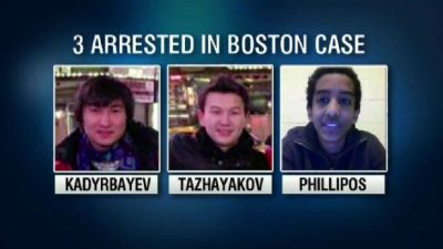 Authorities allege that the friends went to Dzhokhar Tsarnaev's dorm room at the University of Massachusetts-Dartmouth three days after Boston Marathon bombings