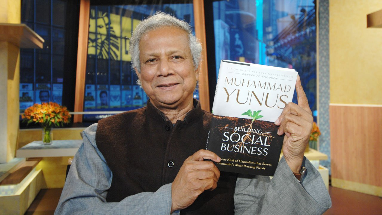 Muhammad yunus from 0 to nobel