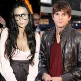 Demi Moore and Ashton Kutcher had been at the same tech event in San Jose and shared a flight back to Burbank airport in Los Angeles