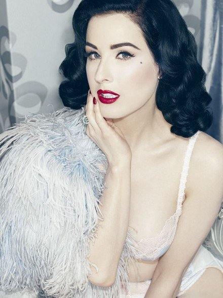 Dita Von Teese turns 41 today but she is not afraid of her age