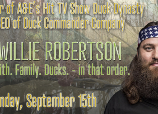 Duck Dynasty's Willie Robertson at Odessa's Crossroads Fellowship