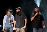 Duck Dynasty guys Willie, Jase and Si Robertson were invited at a sold-out show at Detroit's MotorCity Casino Hotel