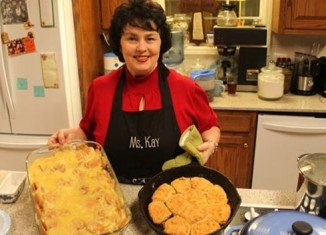 Duck Dynasty matriarch Miss Kay Robertson revealed her quick biscuits recipe